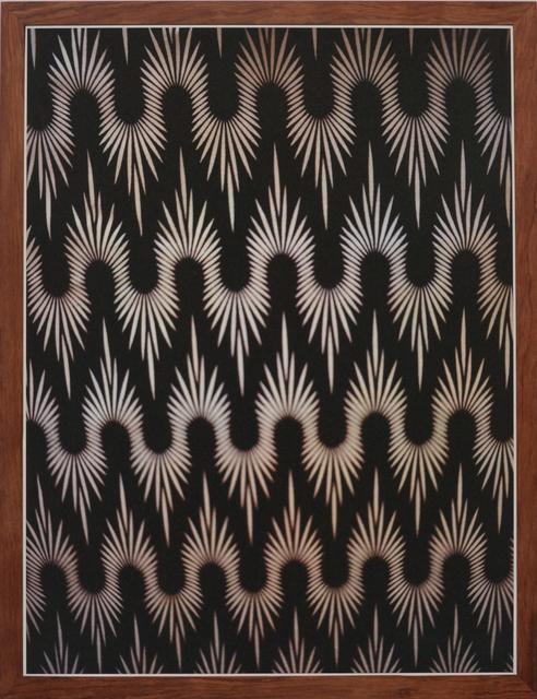 , 'African Textiles # 1 Black,' 2014, Tatjana Pieters