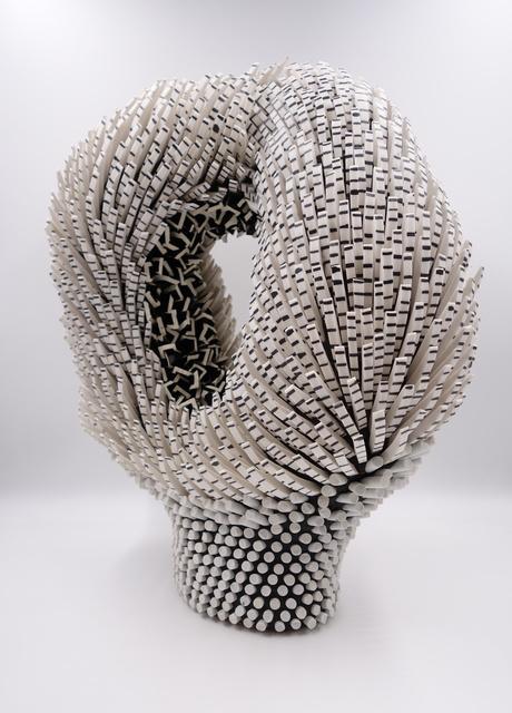 Zemer Peled, 'Shards Flower 25', 2020, Sculpture, Porcelain, Mark Moore Fine Art