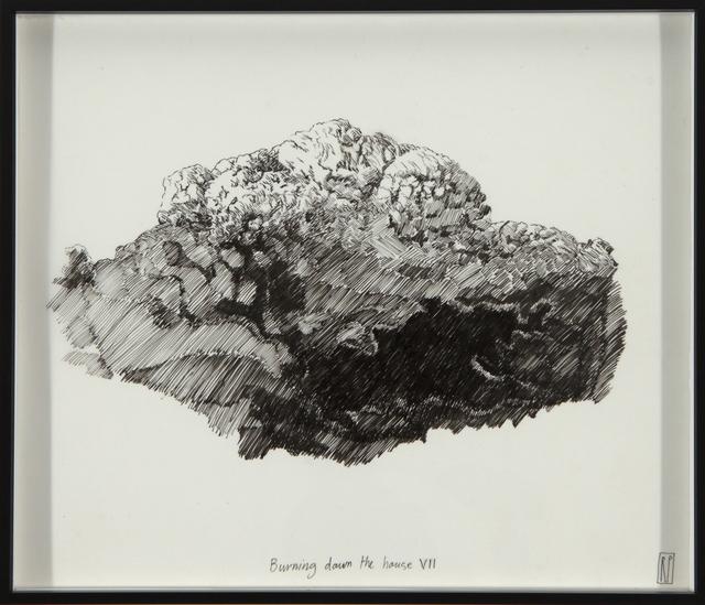, 'Burning down the house VII,' 2016, Barnard