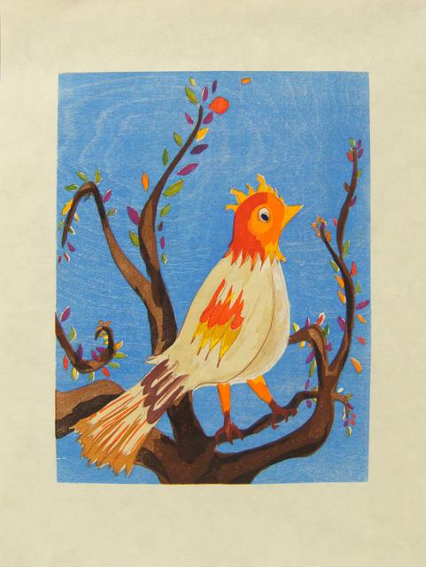 Laura Owens, 'Untitled (Bird)', 2006, Betsy Senior Fine Art