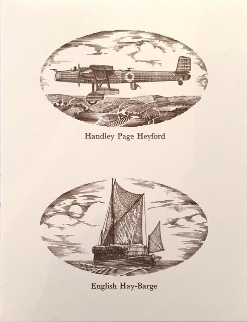 , 'Handley Page Heyford,' 1978, Linn Lühn