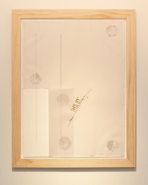 Noriyuki Haraguchi, 'Work on Paper 1 Gesture', 2019, Asia Art Center