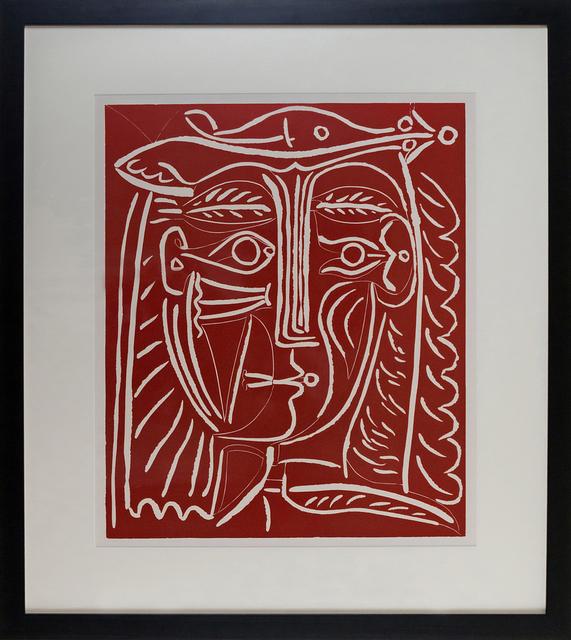 Pablo Picasso, 'Tete De Femme Au Chapeau, Paysage Avec Baigneurs', 1962, Vanessa Villegas Art Advisory