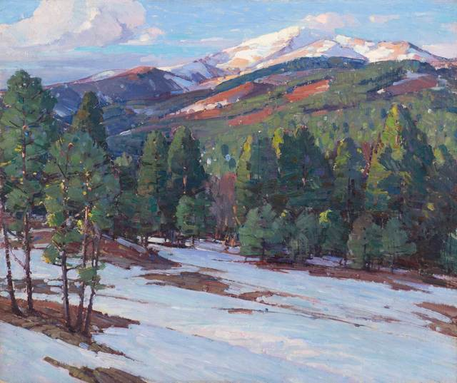 Aldro Thompson Hibbard, 'Signs of Spring in the Mountains', 20th Century, Vose Galleries