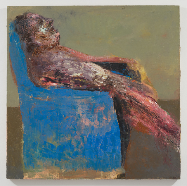 , 'Blue Armchair,' 2015, Gazelli Art House