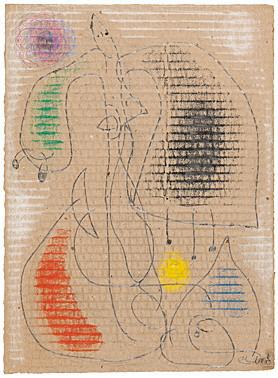 Joan Miró, 'Femme (Frau)', 1976, Galerie Boisseree