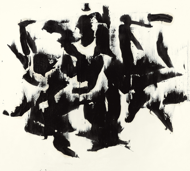 , 'Mass writing,' 1964, Kalman Maklary Fine Arts