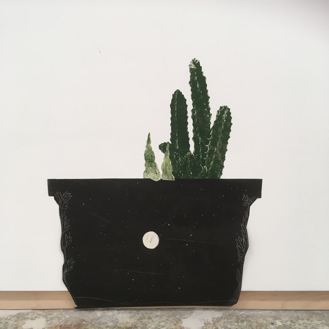 , 'Potted Cholla (1 of 2 sold as a pair),' 2017, Emerson Dorsch