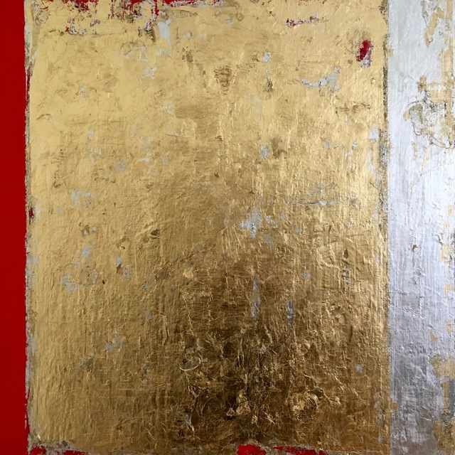 , 'Ripped gold V,' , Orion Contemporary