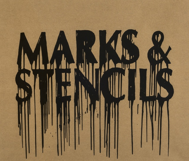Banksy, 'Marks and Stencils', 2010, Forum Auctions