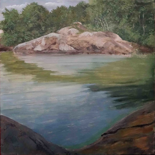 , 'Île 1, Suède,' 2017, Galerie Pixi - Marie Victoire Poliakoff