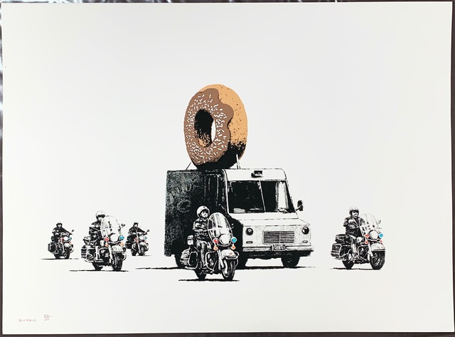 Banksy, 'Donuts (Chocolate)', 2009, Fairhead Fine Art Limited