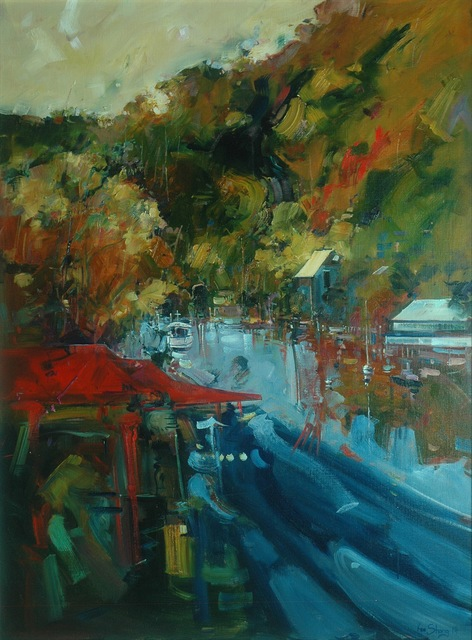 , 'Calming of Berowra,' 2014, Wentworth Galleries