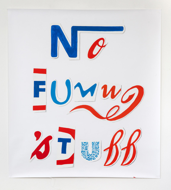 Christian Holtmann, 'No funny stuff', 2018, Evelyn Drewes Galerie