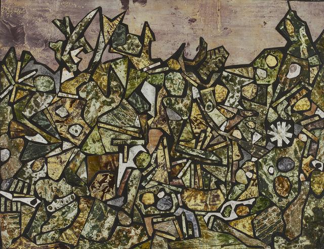 , 'Jardin de souffle cor avril 1956,' 1956, Waddington Custot