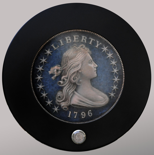 , '1796 Draped Bust Dollar,' 2014, Quidley & Company