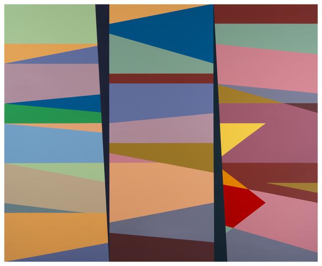 Odili Donald Odita, '2nd and 3rd Degree of Separation (OD15.004)', 2015, Stevenson