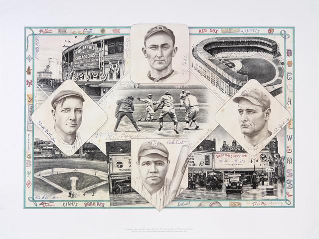, 'Baseball 1900-1935,' , Dowling Walsh