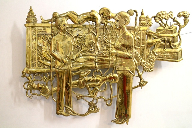 Entang Wiharso, 'After the Agreement Borderless', 2013, Marc Straus