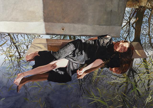 Martin Schnur, 'Placing Shadows, Deep', 2019, Painting, Oil on canvas, Galerie Wolfgang Jahn