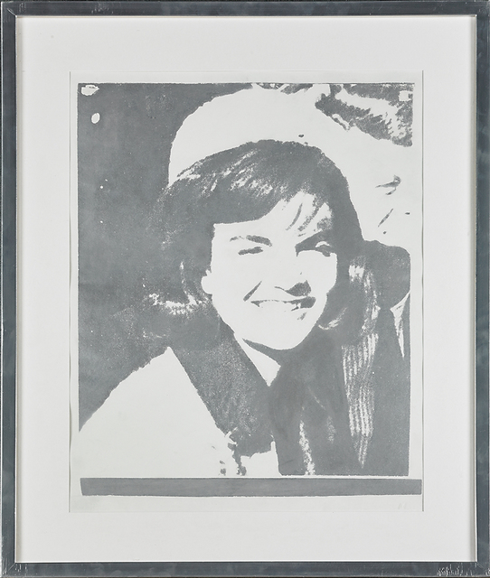 Andy Warhol, 'Jackie Kennedy I (Jackie I)', 1965, Print, Screenprint in silver on paper, Rago/Wright