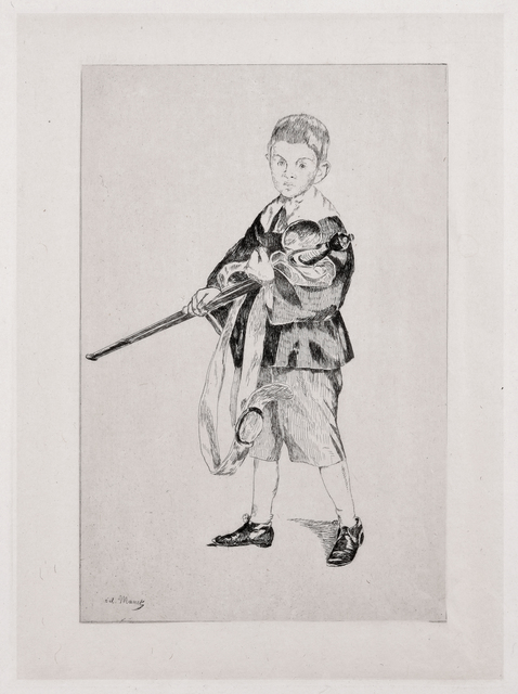 , 'Boy with a Sword,' 1862, David Tunick, Inc.