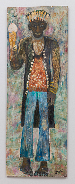 , 'Untitled (Figure Standing, Blue Pants, Hat) ,' , The Good Luck Gallery