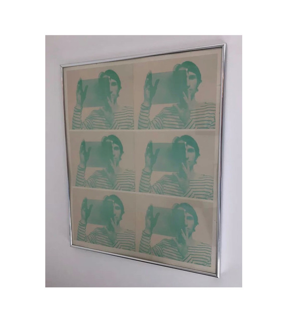 "Bruce Nauman, '""Untitled"", 1969,  2-Color Offset Lithograph, SIGNED Edition, Publisher Leo Castelli Gallery NY', 1969, VINCE fine arts/ephemera"
