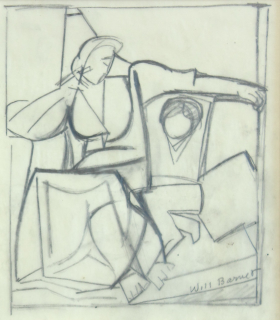 , 'Untitled (Mother and Child Study),' 1960, Alexandre Gallery