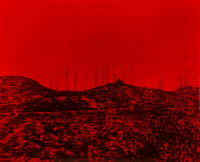 , 'Premonition Red ,' 2016, Photon Gallery