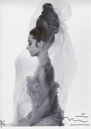 Bert Stern, 'Audrey Hepburn Profile', 2010, Kunzt Gallery