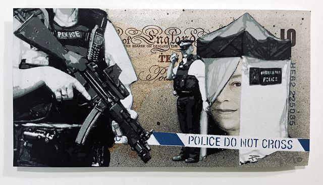 , 'Dead on the Money,' 2010, Spoke Art