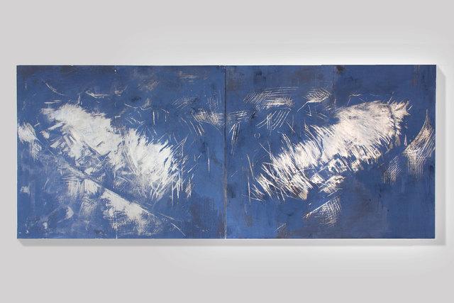 , 'Whale Fluke (Le Grand Bleu),' 2018, SILAS VON MORISSE gallery
