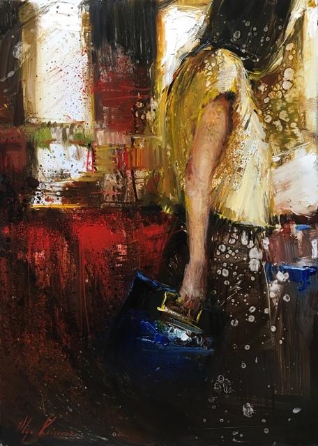 , 'Blue Bag,' 2018, Vanessa Rothe Fine Art