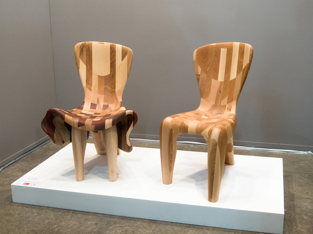 , 'Couple, Two Chairs, One Sculpture,' 2016, Rimonim Art Gallery