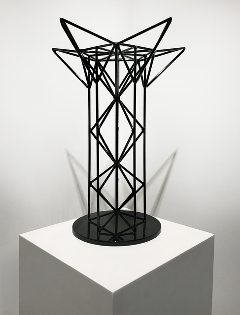 , 'Black Stellated Tower, Trophy Series 2/4,' 2017, OTA Contemporary