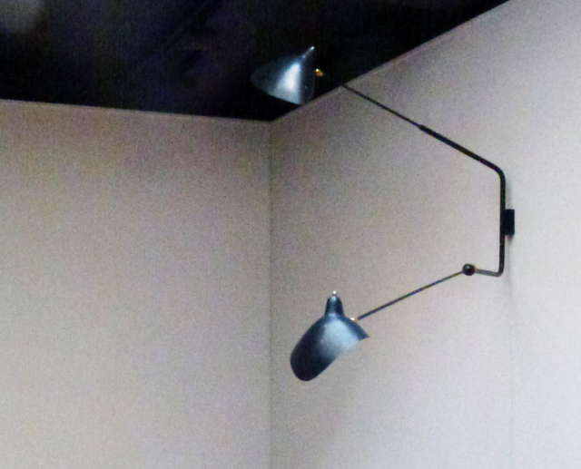 , 'Wall-lamp with two arms,' 1954, Jousse Entreprise