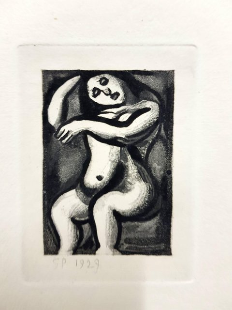 """Georges Rouault, 'Original Etching """"Ubu the King IX"""" by Georges Rouault', 1955, Galerie Philia"""