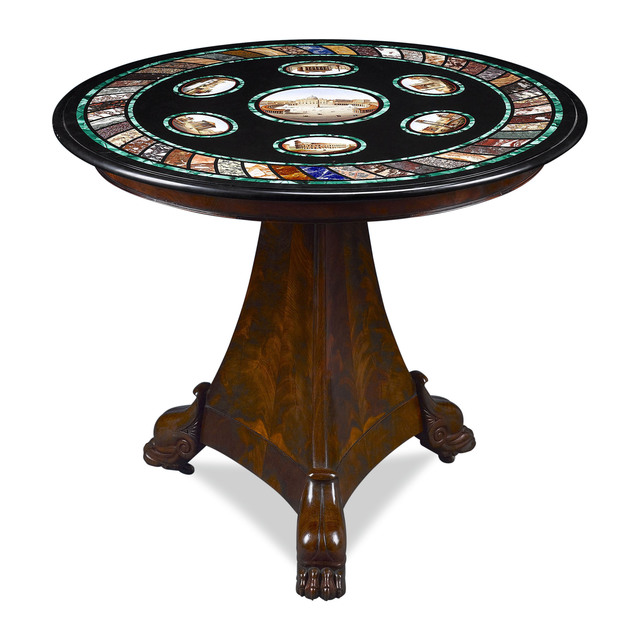 , 'ITALIAN MICROMOSAIC TABLE ,' ca. 1845, M.S. Rau Antiques