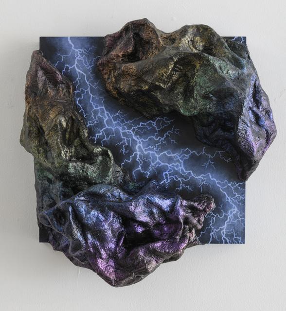 , 'Obsidian Electric,' 2018, Craig Krull Gallery