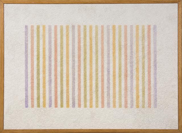 , 'Grammature di colore - Supporto intonaco n.3,' 1974, Primo Marella Gallery