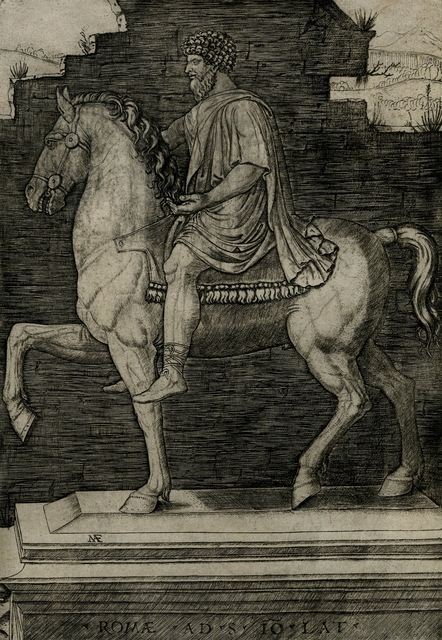 , 'Statue of Marc Aurelius on Horseback,' ca. 1508, Childs Gallery