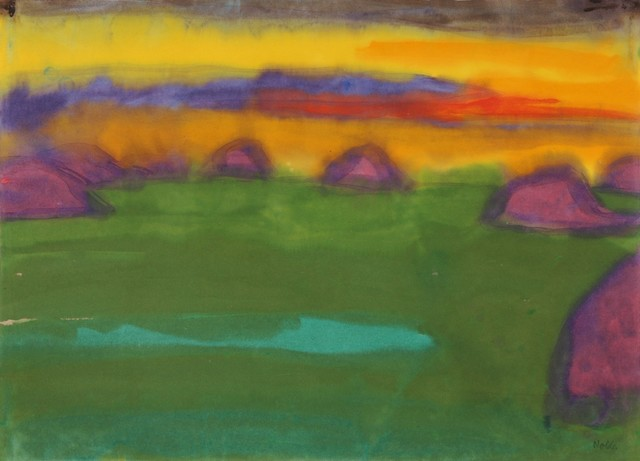 , 'Evening in the Marsh,' 1935, Galerie Thomas