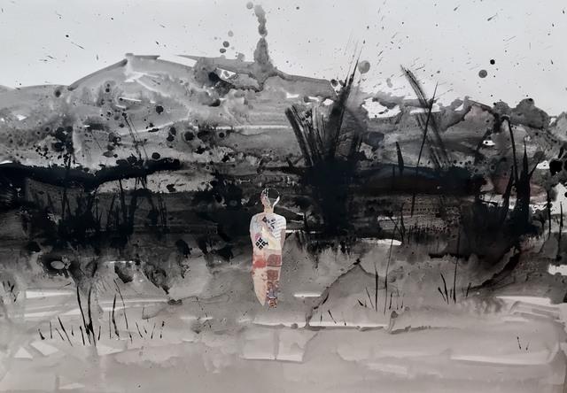 , 'Footing to a New Land I - Yeni Bir Ülkeye Ayak Basmak I,' 2018, Anna Laudel