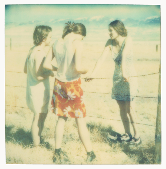 Stefanie Schneider, 'Three Girls II (Last Picture Show)', 2006, Instantdreams