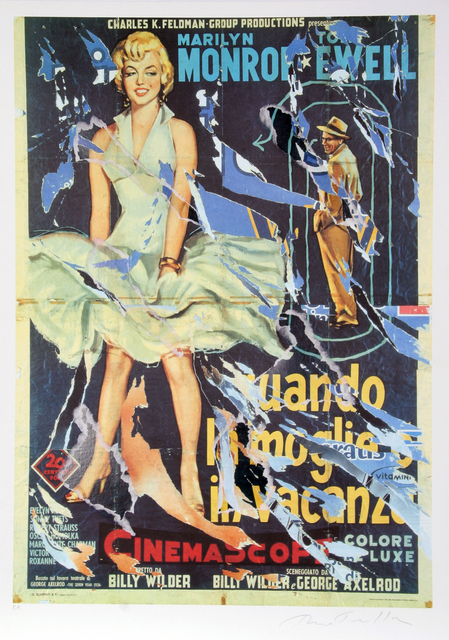 Mimmo Rotella, 'Seven Year Itch #1', 2004, RoGallery