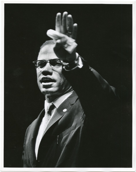 , 'Malcolm X at Rally,' 1963, Jenkins Johnson Gallery