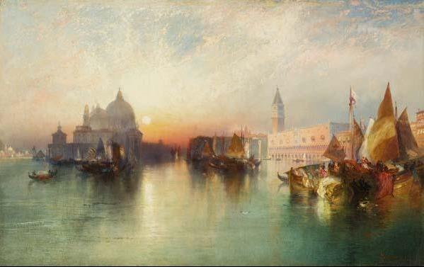 Thomas Moran, 'View of Venice', 1895, Davis Museum