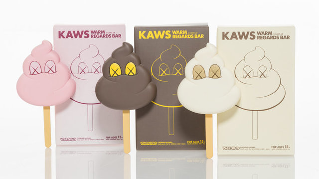 KAWS, 'Warm Regards Bar, set of three', 2008, Heritage Auctions