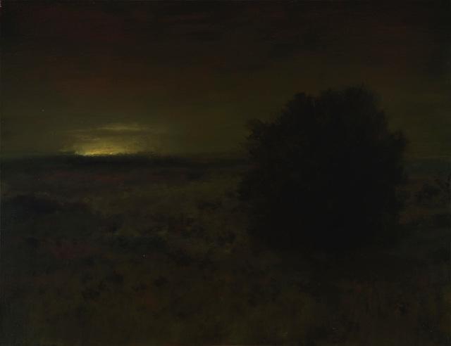 , 'Chapparal at Night,' 2018, Sullivan Goss